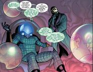 Quentin Beck (Earth-616) and Dmitri Smerdyakov (Earth-616) from Amazing Spider-Man Vol 1 686 001