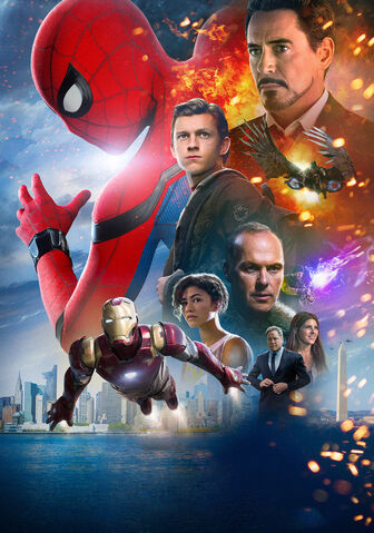File:Spider-Man Homecoming poster 004 Textless.jpg