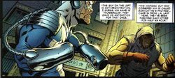 Stanley George Johnson (Earth-616) and Roberto Valasquez (Earth-616) from Civil War Front Line Vol 1 3 001