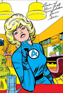 Susan Storm (Earth-616) Gallery Page from Fantastic Four Annual Vol 1 2