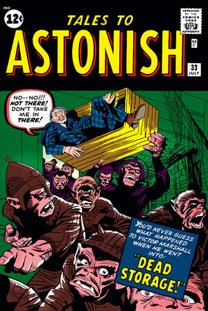 Tales to Astonish Vol 1 33