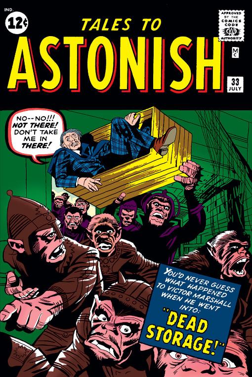 Tales to Astonish Vol 1 33