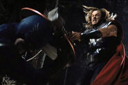 Thor Odinson (Earth-199999) and Steven Rogers (Earth-199999) from Marvel's The Avengers 0003