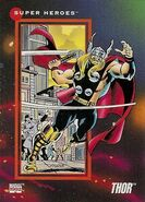 Thor Odinson (Earth-616) from Marvel Universe Cards Series III 0001