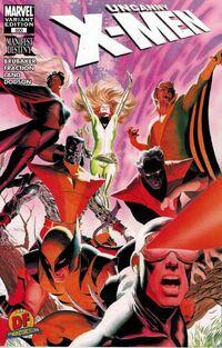 Uncanny X-Men Vol 1 500 Dynamic Forces Variant