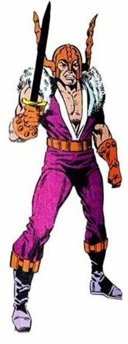 Vidar (Earth-616) from Official Handbook of the Marvel Universe Vol 2 1 0001