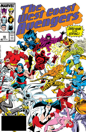 West Coast Avengers Vol 2 28