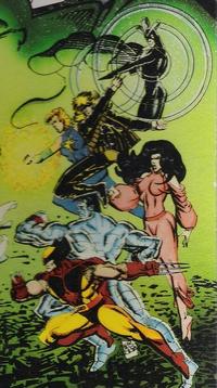 X-Men (Earth-90613) from X-Men II Fall of the Mutants 0001