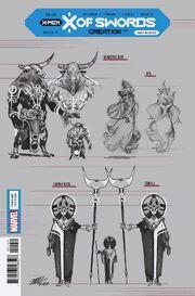 X of Swords Creation Vol 1 1 Design Variant