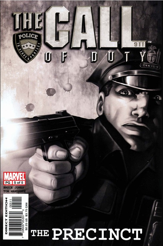 5 COMPLETE SET 2 3 #/'s 1 4 2002 THE CALL OF DUTY: THE PRECINCT