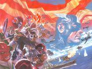 Captain America Vol 9 1 Wraparound Textless