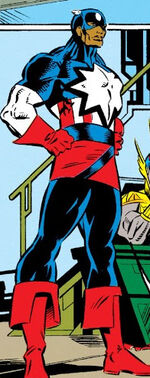 Captain Assyria (Earth-9105) from New Warriors Vol 1 12 0001