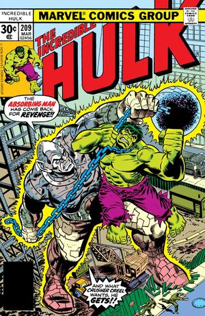 Incredible Hulk Vol 1 209