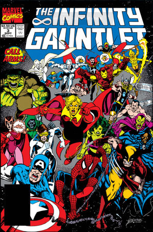 Infinity Gauntlet Vol 1 3