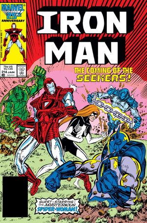 Iron Man Vol 1 214