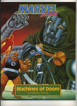 Marvel Super Heroes Campaign Set Machines of Doom
