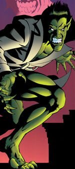 Miles Warren (Jackal Clone 2) (Earth-616) from Spider-Man The Jackal Files Vol 1 1 001