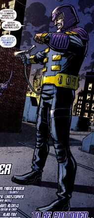 Peter Petruski (Earth-616) fifth Trapster uniform from Avengers Solo Vol 1 1