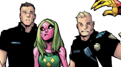 San Diego Police Department (Earth-616) from Champions Vol 2 9 001