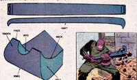 Wreckers Crowbar from Official Handbook of the Marvel Universe Vol 1 15 0001