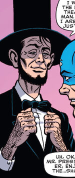 Abraham Lincoln (Earth-1611) from The Age of the Sentry Vol 1 4 0001