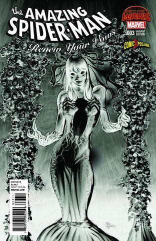 File:Amazing Spider-Man Renew Your Vows Vol 1 3 ComicXposure Exclusive Negative Variant.jpg