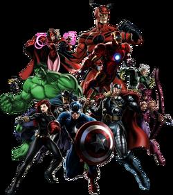 Avengers (Earth-12131) from Marvel Avengers Alliance 0001
