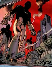 Deathlok Class Units (Earth-TRN254) from Astonishing X-Men Ghost Boxes Vol 1 1 0002
