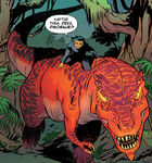 Devil Dinosaur (Earth-78411) and Moon-Boy (Earth-78411) from Moon Girl and Devil Dinosaur Vol 1 1 0001