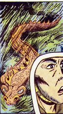 Doctor Yokotio's Sea Dragon from Captain America Comics Vol 1 43 0001