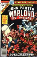 John Carter Warlord of Mars Annual Vol 1 2