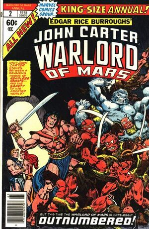 John Carter Warlord of Mars Annual Vol 1 2