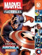 Marvel Fact Files Vol 1 Captain America Special