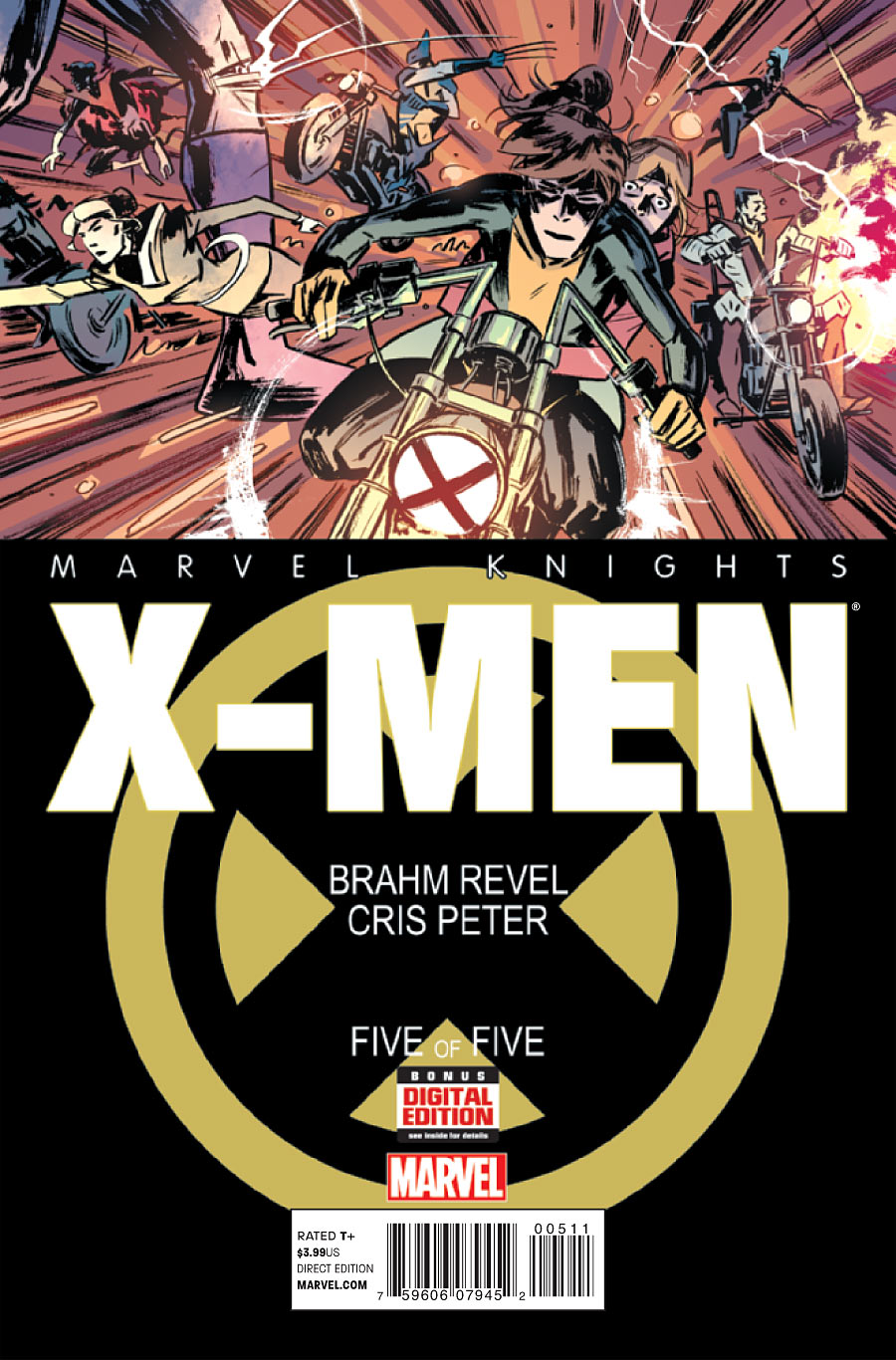 Marvel Knights X-Men Vol 1 5
