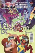 Marvel Rising Ms. Marvel Squirrel Girl Vol 1 1