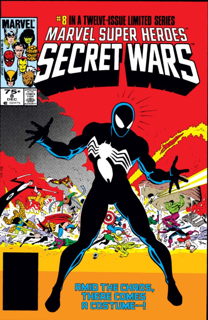 Image result for Secret Wars 1984 symbiote