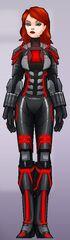 Natasha Romanova (Earth-TRN562) from Marvel Avengers Academy 008
