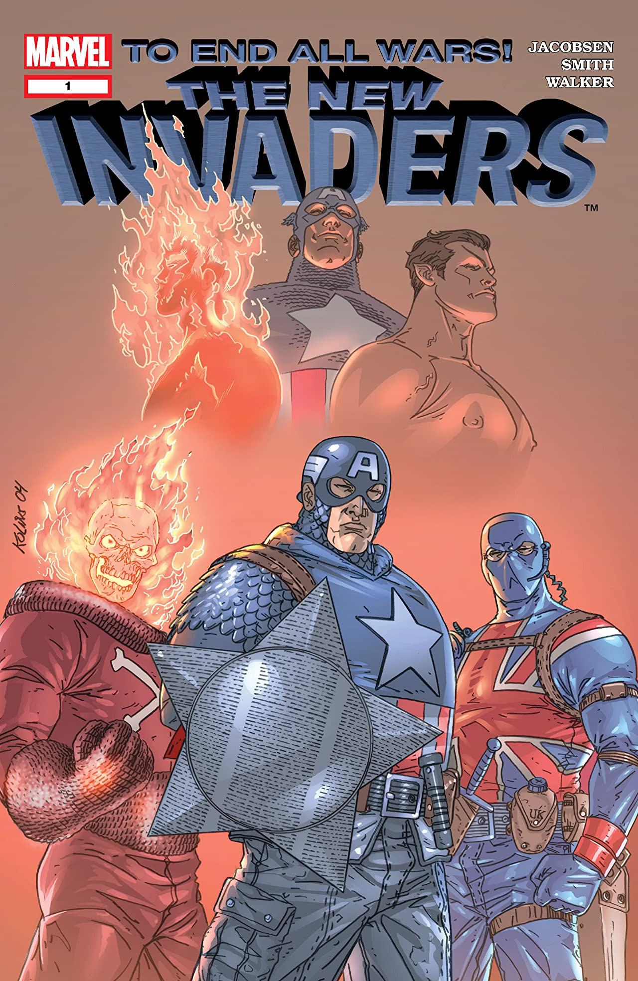 Marvel's Invaders by xcub on DeviantArt