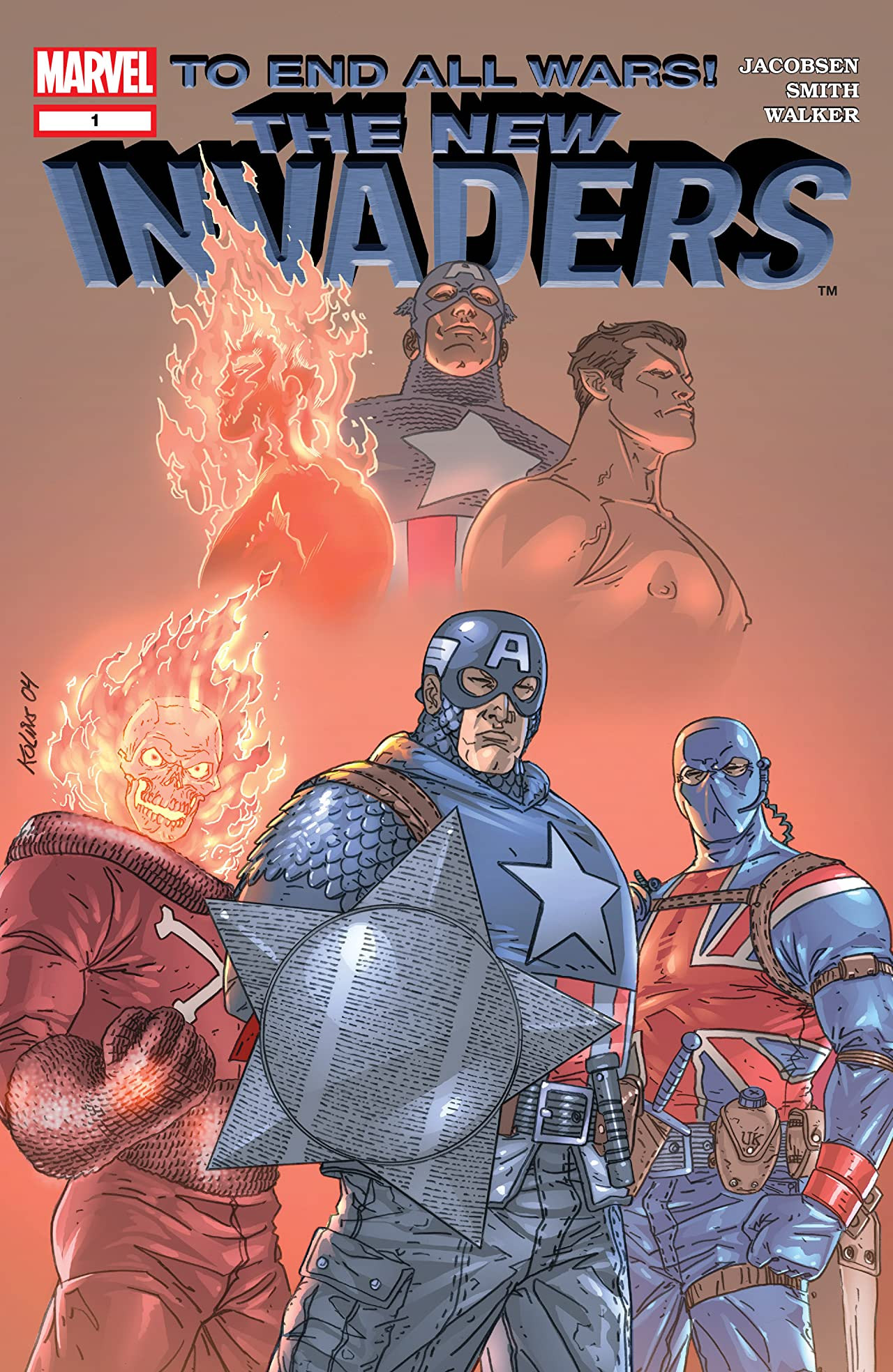 Marvel's Invaders by xcub on DeviantArt