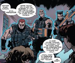 Outcasts (Mercenaries) (Earth-616) from Alpha Flight True North Vol 1 1 001