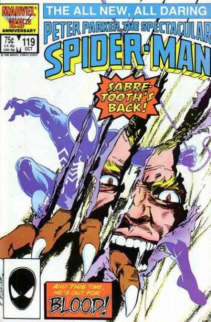 Peter Parker, The Spectacular Spider-Man Vol 1 119