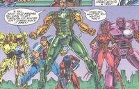 Q7 Strike Force (Earth-616) from Gene Dogs Vol 1 1 0001