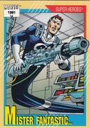 Reed Richards (Earth-616) from Marvel Universe Cards Series II 0001