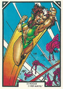 Rogue (Anna Marie) (Earth-616) from Arthur Adams Trading Card Set 0001