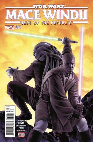 Star Wars Mace Windu Vol 1 2