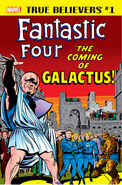 True Believers Fantastic Four - The Coming of Galactus Vol 1 1