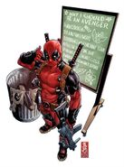 Uncanny Avengers Vol 1 1 Deadpool Call Me Maybe Variant Textless