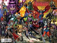 Avengers Vol 6 0 Adams Variant (Wraparound)