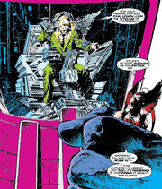 Charles Xavier (Earth-616) fused with a Sentinel in Excalibur XX Crossing Vol 1 1