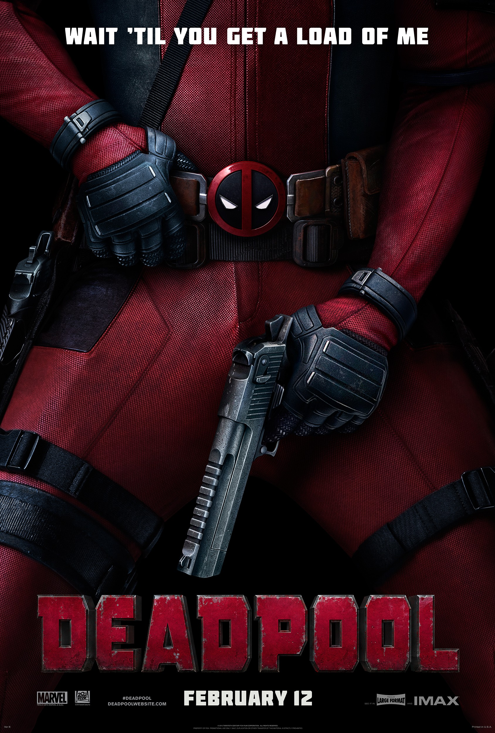 Resultado de imagem para deadpool 1 poster